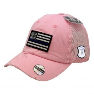 Women's USA Flag Hat | Pink